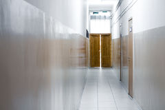 Corridor of office Royalty Free Stock Photos