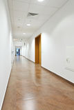 Corridor in the office building Stock Photo