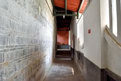 Corridor of old building, South of China Royalty Free Stock Photo