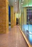 corridor outside Stock Image
