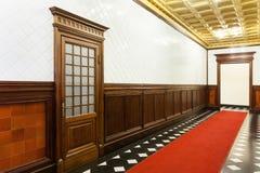 Corridor of a palace Stock Photos