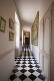 Corridor palace Stock Image