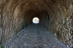Corridor in Palaio Frourio Stock Image
