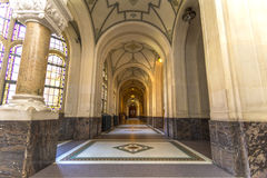 Corridor of the Peace Palace, The Hague Stock Photography