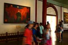 Corridor-President Office-China Nanjing Royalty Free Stock Photo