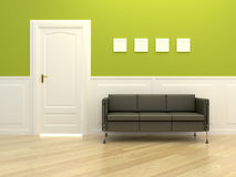Corridor room Royalty Free Stock Photo