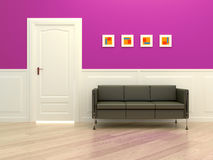 Corridor room Royalty Free Stock Photos