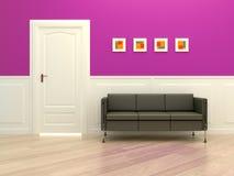 Corridor room Royalty Free Stock Photos