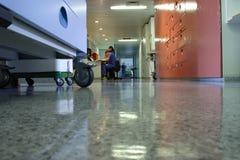 corridor sickbed Στοκ Εικόνες