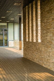 Corridor and Stone Walls Royalty Free Stock Image