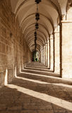 Corridor On Temple Mount Stock Photo