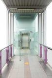 Corridor to elevator Stock Photography