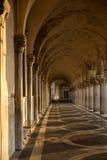 Corridor venice Stock Image