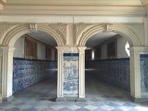 Corridor. View in Salvador de Bahia, Brazil Royalty Free Stock Images