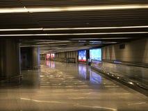 Corridor of Vnukovo Airport Royalty Free Stock Photo