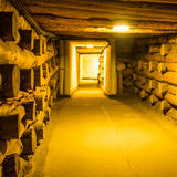 Corridor in Wieliczka Stock Photos