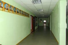 Corridor of Zhytomyr Higher Educational Institution in Ukraine. Stock Image