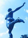 Corridore 03 della statua Immagini Stock