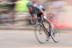 Corridore #2 della bici Fotografia Stock