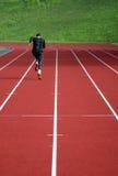 Corridore atletico Immagine Stock