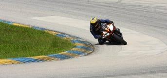 Corridore del GP di Moto fotografia stock libera da diritti