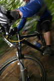 Corridore della bici Fotografia Stock Libera da Diritti