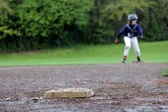 Corridore di baseball Fotografia Stock