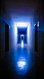 Corridore di notte Fotografia Stock Libera da Diritti