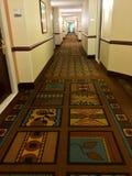 Corridore in einem Haupthotel im theChicago Bereich Lizenzfreie Stockfotografie