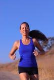 corridore femminile Fotografia Stock