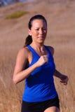 corridore femminile Fotografie Stock