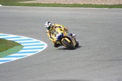 Corridore italiano Valentino Rossi a Jerez, 2006 Immagini Stock Libere da Diritti