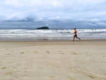 Corridore maratona Immagine Stock