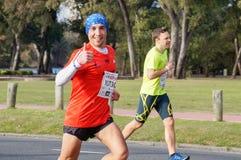 Corridore maratona Immagini Stock Libere da Diritti