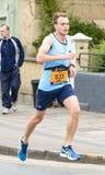 Corridore maratona Matt Creed fotografia stock