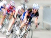 Corridori della bici Immagine Stock