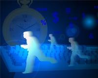 Corridori di tempo Fotografie Stock Libere da Diritti