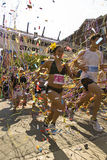 Corridori nella corsa gaia di orgoglio di Toronto Fotografie Stock