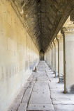 Corridors of Angkor Wat Royalty Free Stock Image