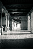 Corridors and pillars in Plaza de Espana in Seville, Spain, Euro Stock Photography