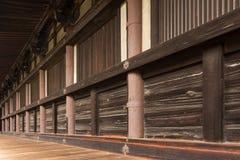 Corridors of Sanjusangendo Royalty Free Stock Photography