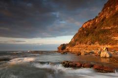 Corriente costera Fotografía de archivo