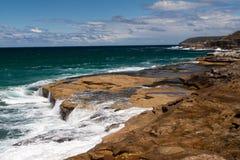 Corriente costera Imagenes de archivo