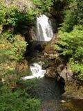 Corriente de la cascada de Ingleton Fotografía de archivo libre de regalías
