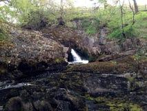 Corriente de la cascada de Ingleton Imagenes de archivo