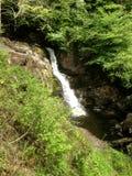 Corriente de la cascada de Ingleton Imagen de archivo libre de regalías