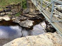 Corriente de la cascada de Ingleton Fotografía de archivo