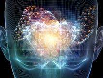 Corriente de la mente Imagen de archivo libre de regalías