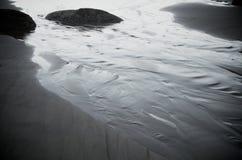 Corriente de la playa Imagen de archivo