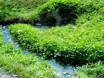 Corriente del agua Fotos de archivo